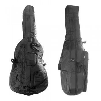Bobelock Double Bass Bag - Black - Nylon - 1020