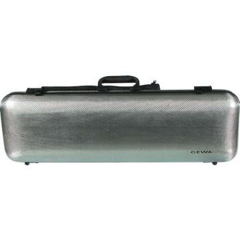 GEWA IDEA 2.0 Carbon-Fiber Oblong 4/4 Violin Case - Titanium - 317370