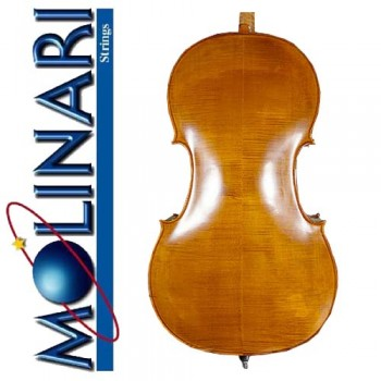 Molinari 360 - 4/4 Size European Cello Outfit - Oil Finish