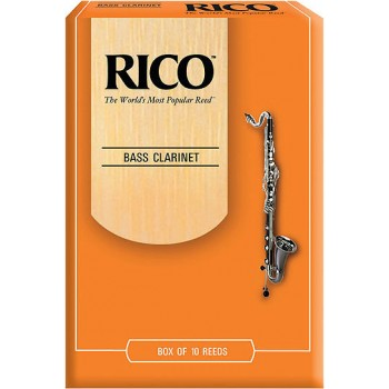 Rico Reeds Bass Clarinet (box of 10)