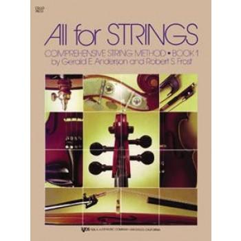 All for Strings - Book 1 - Cello