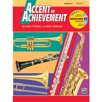 Accent on Achievement - Book 2 - Horn in F with CD