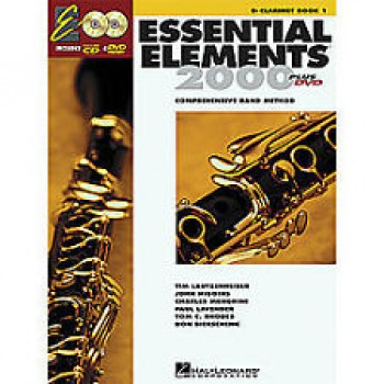 Essential Elements 2000 - for Band Book 1 - Clarinet with CD & DVD