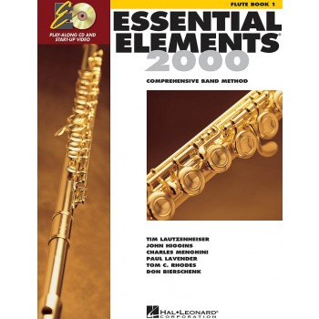 Essential Elements 2000 - for Band Book 1 - Flute with CD & DVD