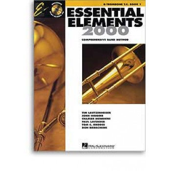 Essential Elements 2000 - for Band Book 1 - Trombone with CD & DVD