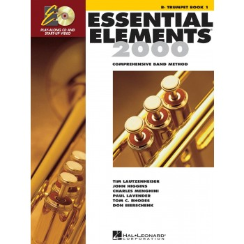 Essential Elements 2000 - for Band Book 1 - Trumpet with CD & DVD