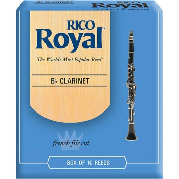 Rico Royal Reeds Clarinet (box of 10)