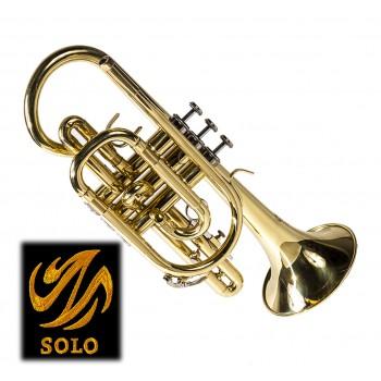 SOLO GOLD LACQUER CORNET 55L