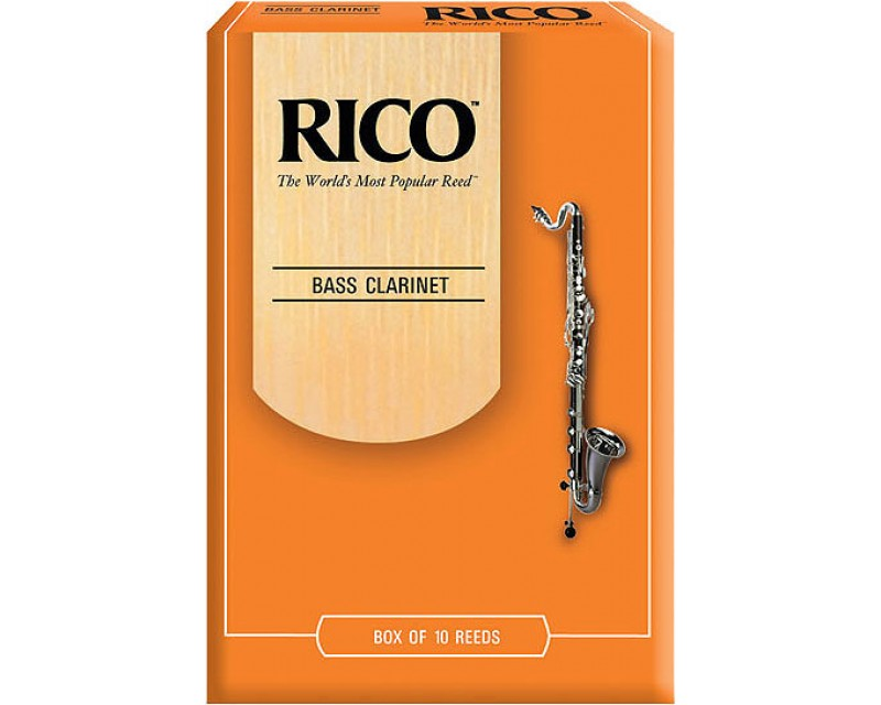 Rico Reeds Bass Clarinet box of 10 Box of 10