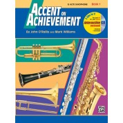 Accent on Achievement - Book 1 - Eb Alto Saxophone with CD
