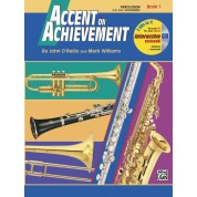 Accent on Achievement - Book 1 - Bb Trumpet with CD