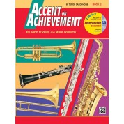 Accent on Achievement - Book 2 - Bb Tenor Saxophone with CD