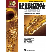 Essential Elements 2000 - for Strings Book 1 - Tenor Saxophone with CD & DVD
