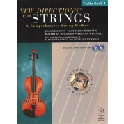 New Directions for Strings - Book 1 - Violin with CD