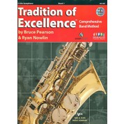 The Tradition of Excellence - Book 1 - Eb Alto Saxophone with Audio/Video DVD