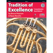 The Tradition of Excellence - Book 1 - F Horn with Audio/Video DVD