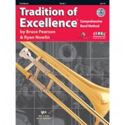 The Tradition of Excellence - Book 1 - Bb Trombone with Audio/Video DVD