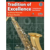The Tradition of Excellence - Book 1 - Bb Tenor Saxophone with Audio/Video DVD